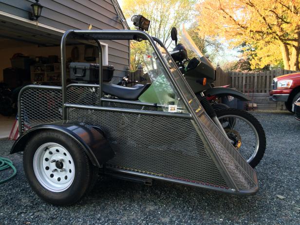 KLR650 Sidecar!