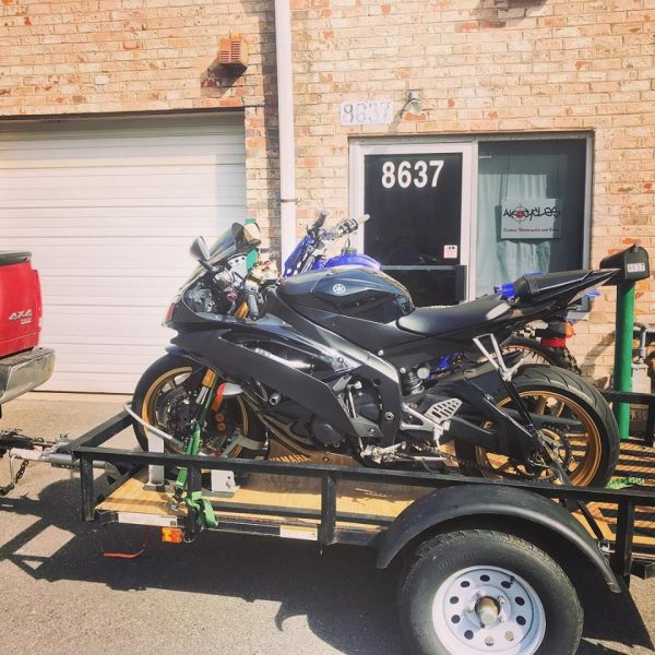 motorcycle towing maryland