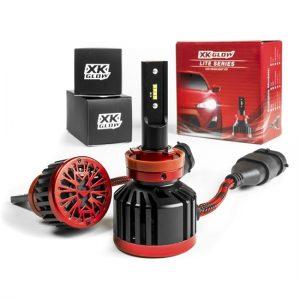 Motorocycle LED Headlight Bulbs 4800Lumens!
