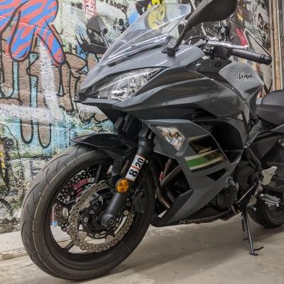 2018 Kawasaki Ninja 650 ABS SOLD